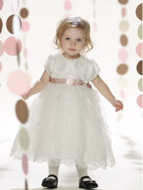 Discount 2014 Joan Calabrese Flower Girl Dresses Style PERJ050