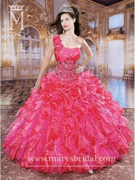 Discount 2014 Marys Quinceanera Dresses Style MAYS015