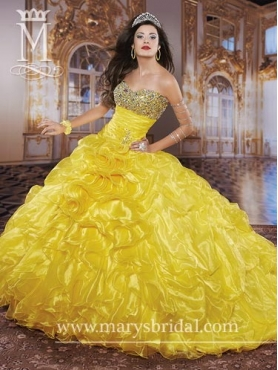 Discount 2014 Marys Quinceanera Dresses Style MAYS016