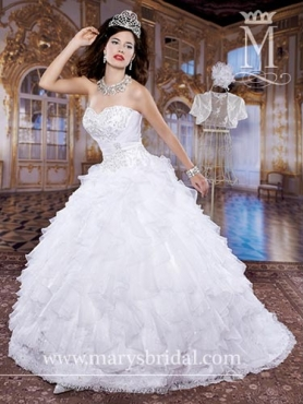 Discount 2014 Marys Quinceanera Dresses Style MAYS021