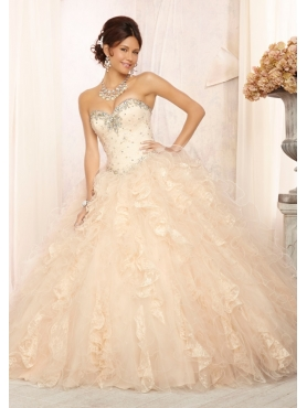 Discount 2014 Morilee Quinceanera Dresses Style MLER016