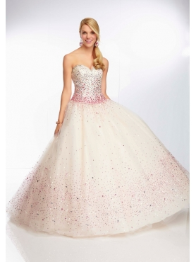Discount 2014 Morilee Quinceanera Dresses Style MLER018