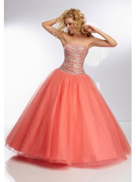 Discount 2014 Morilee Quinceanera Dresses Style MLER021