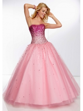 Discount 2014 Morilee Quinceanera Dresses Style MLER038