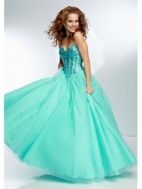 Discount 2014 Morilee Quinceanera Dresses Style MLER054