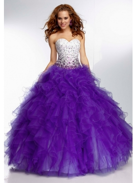 Discount 2014 Morilee Quinceanera Dresses Style MLER056