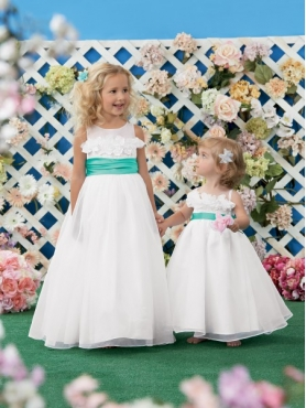 Discount 2014 Jordan Flower Girl Dress Style JNAD008