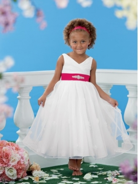 Discount 2014 Jordan Flower Girl Dress Style JNAD009