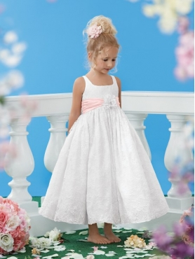 Discount 2014 Jordan Flower Girl Dress Style JNAD011