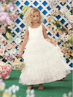 Discount 2014 Jordan Flower Girl Dress Style JNAD014