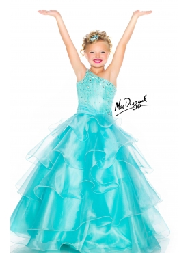 Discount 2014 Macduggal Little Girl Pageant Dress Style JNAD037
