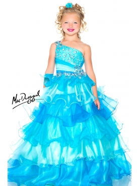 Discount 2014 Macduggal Little Girl Pageant Dress Style JNAD038