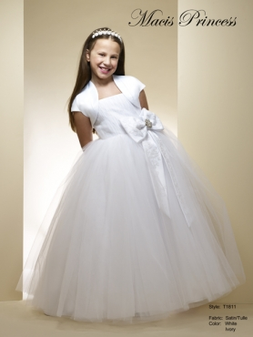 Discount 2014 Macis Flower Girl Dress Style CISA001