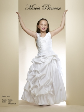 Discount 2014 Macis Flower Girl Dress Style CISA003