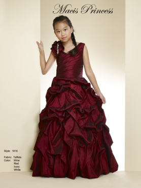 Discount 2014 Macis Flower Girl Dress Style CISA004
