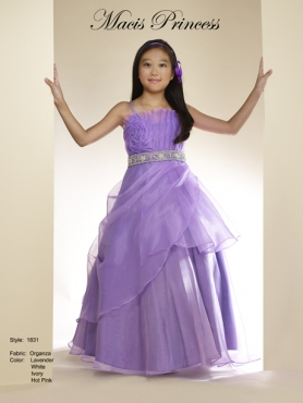 Discount 2014 Macis Flower Girl Dress Style CISA005