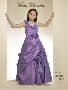 Discount 2014 Macis Flower Girl Dress Style CISA006