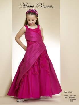 Discount 2014 Macis Flower Girl Dress Style CISA007