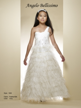 Discount 2014 Macis Flower Girl Dress Style CISA008