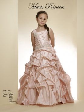 Discount 2014 Macis Flower Girl Dress Style CISA011