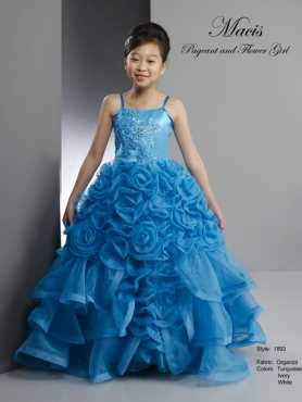 Discount 2014 Macis Flower Girl Dress Style CISA012