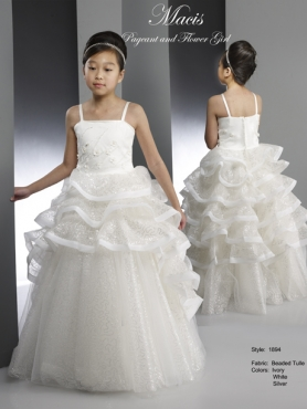 Discount 2014 Macis Flower Girl Dress Style CISA013