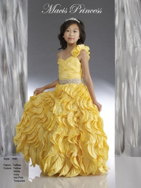 Discount 2014 Macis Flower Girl Dress Style CISA014