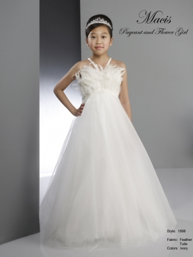 Discount 2014 Macis Flower Girl Dress Style CISA015