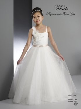 Discount 2014 Macis Flower Girl Dress Style CISA016