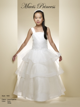Discount 2014 Macis Flower Girl Dress Style CISA017