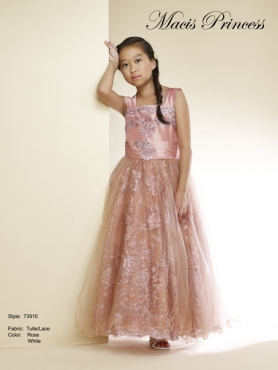 Discount 2014 Macis Flower Girl Dress Style CISA018