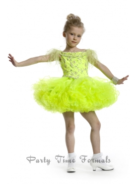 Discount 2014 Party Time Little Girl Dress Style PATE008