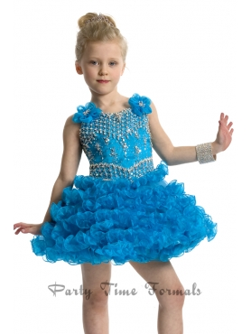 Discount 2014 Party Time Little Girl Dress Style PATE012