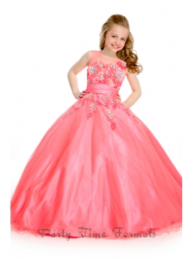 Discount 2014 Party Time Little Girl Dress Style PATE018