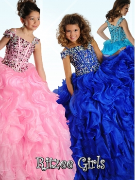 Discount 2014 Ritzee Girls Little Girl Pageant Dress Style WPDR017