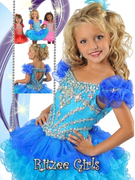 Discount 2014 Ritzee Girls Little Girl Pageant Dress Style WPDR037