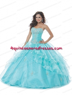 Discount 2014 Beautiful Sweetheart Quinceanera Dress in Blue BNYA030