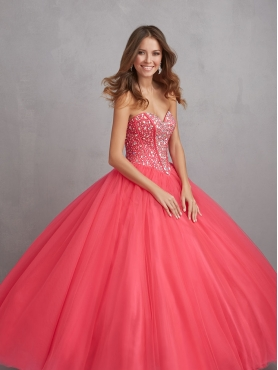 Discount 2014 Customize Blue Quinceanera Dresses with Beading and Sequins NTME022
