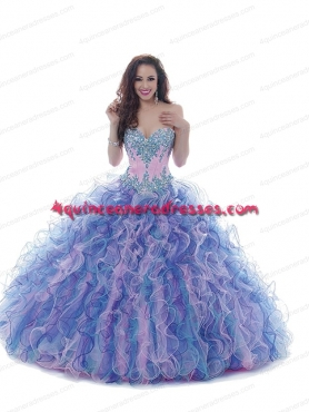 Discount 2014 Pretty Sweetheart Quinceanera Gows With Appliques BNYA024