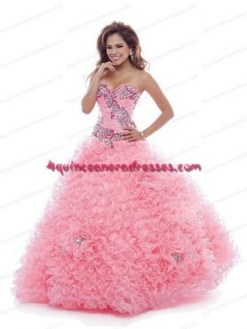 Discount 2014 Pretty Sweetheart Sexy Quinceanera Dress in Pink BNYA031