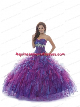 Discount Hot Sale New Style Purple Quinceanera Dresses With Appliques BNYA018