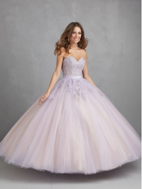Discount Inexpensive Appliques Sweetheart White Sweet 16 Dress For 2015 NTME013