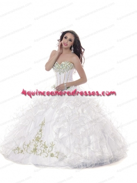Discount Wholesale 2015 New Quinceanera Dress with Appliques BNYA035