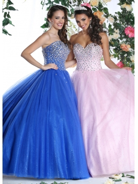 Discount 2015 Classical Royal Blue Quinceanera Dress with Appliques and Ruffles DVIC005