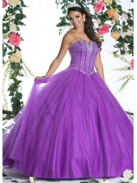 Discount Beautiful Quinceanera Dress with Beading for 2015 DVIC008