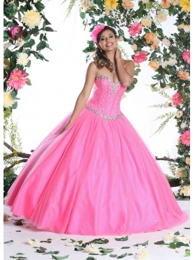 Discount Pretty Quinceanera Dress with Beading and Ruffles for 2015 DVIC007