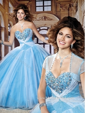 Discount New Style Beading Sweetheart Quinceanera Dresses for 2015 MRYS005