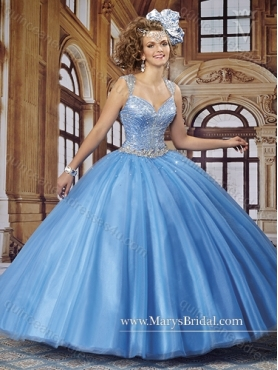 Discount Remarkable Straps Beading Quinceanera Dresses for 2015 MRYS022