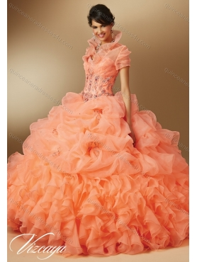 Discount Gorgeous 2015 Summer Sweetheart Beading Quinceanera Dresses MERL004