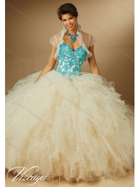 Discount Perfect Multi Color Sweetheart Quinceanera Dresses for 2015 Summer MERL013